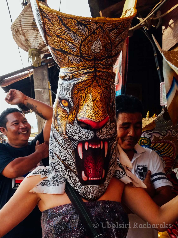 Lion Phi Tha Khon Mask