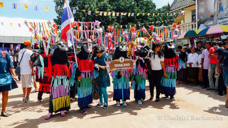 Thai Performers at Wat Phon Chai
