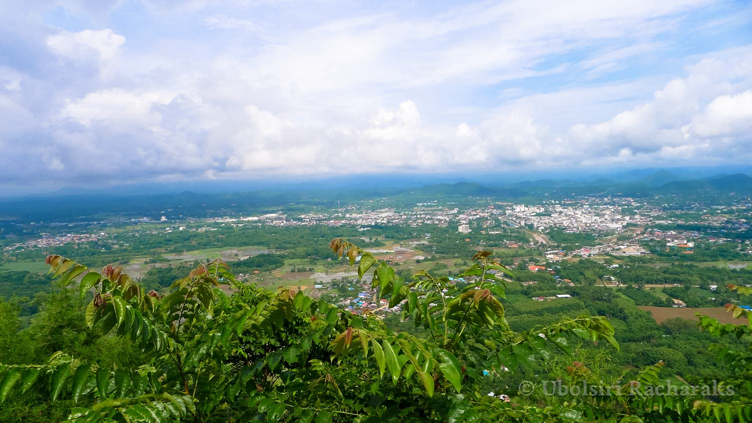 View from the top of Phu Bo Bit National Park