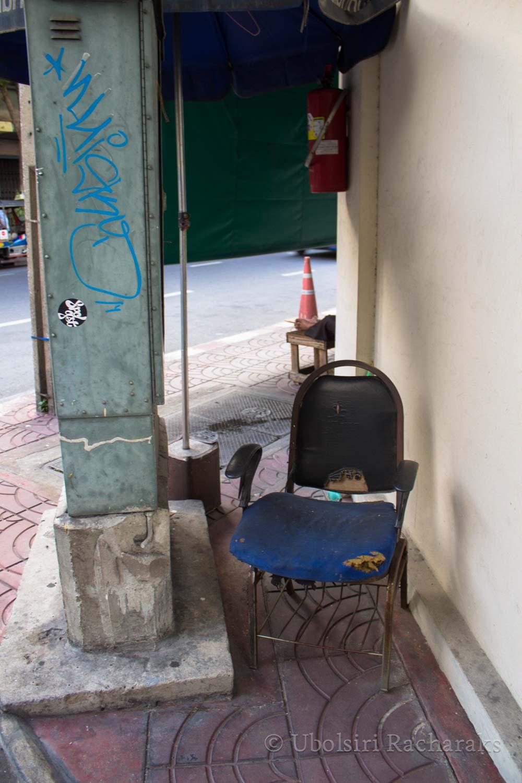 The Hidden Blue Chair
