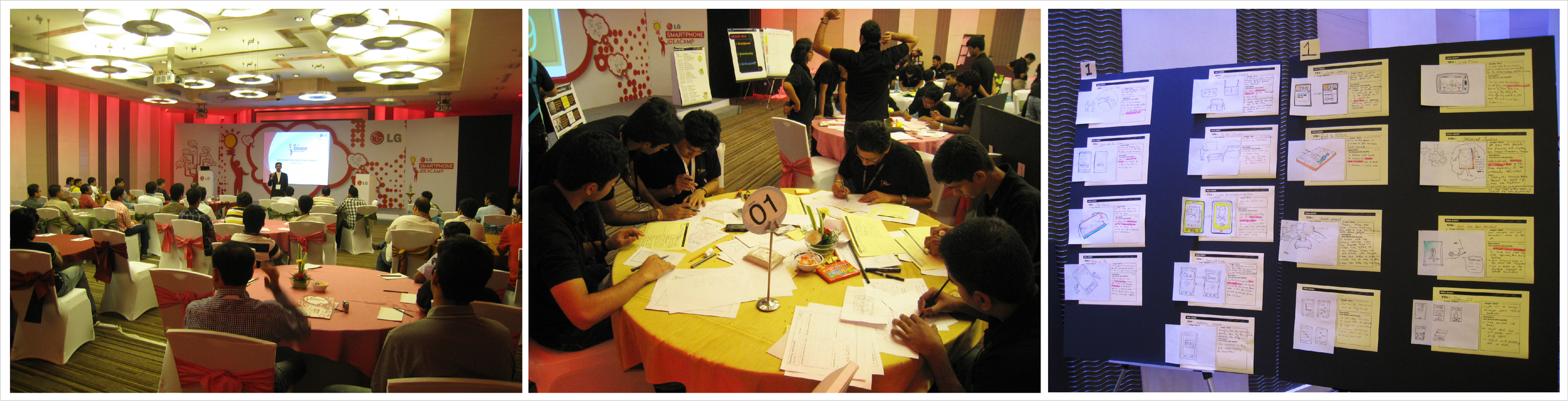 Snapshots from an Innovation Workshop organised in New Delhi