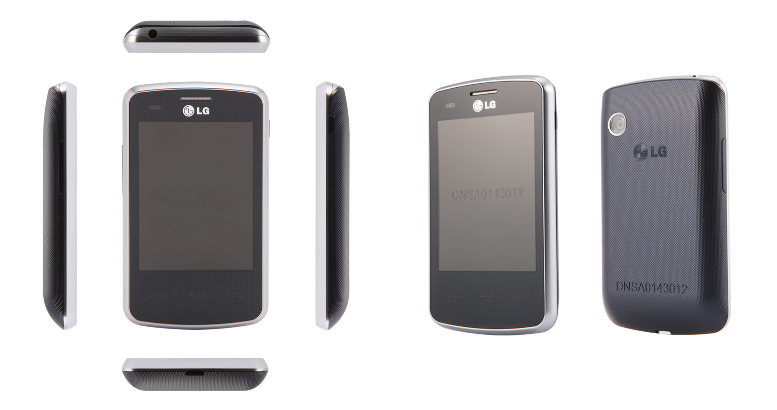 Example of a mock up developed for an entry level touch phone in India.