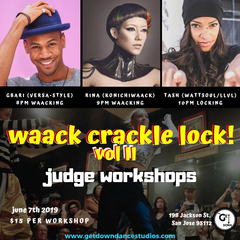 Waack, Crackle, Lock! Volume II Judge Workshops