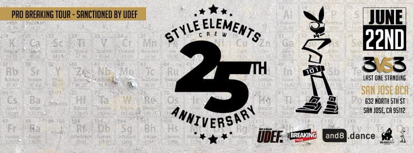 Style Elements Crew 25th Anniversary