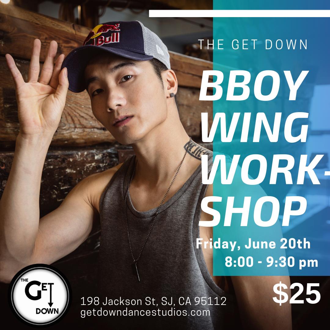 Bboy Wing Workshop