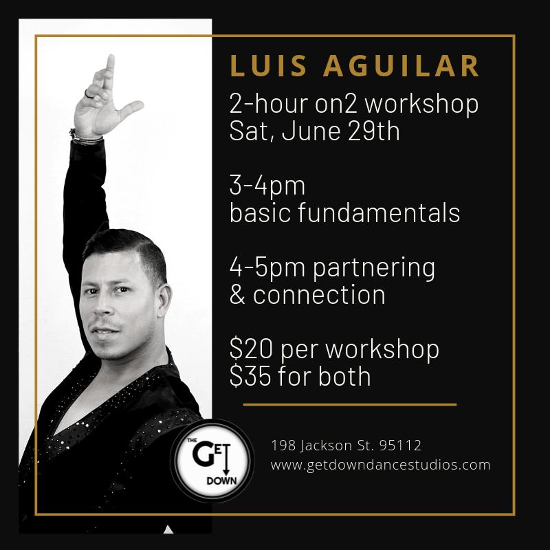 Luis Aguilar On2 Salsa Workshops