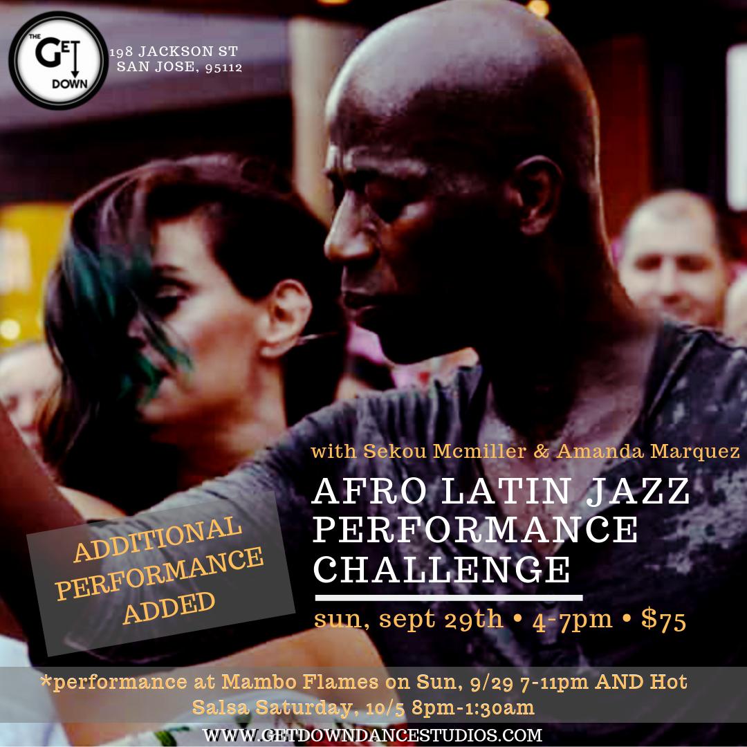 Afro Latin Jazz Performance Challenge