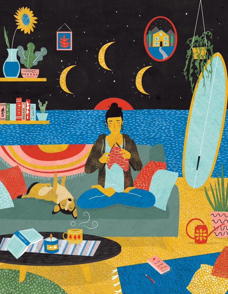 'Evening Rituals' - Editorial for Breathe Magazine