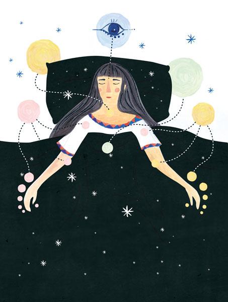 'Yoga Nidra' - Editorial for Breathe Magazine