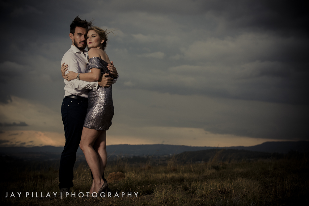 This image takes advantage of the beautiful landscape. The outfits and scene lends itself to a timeless look
