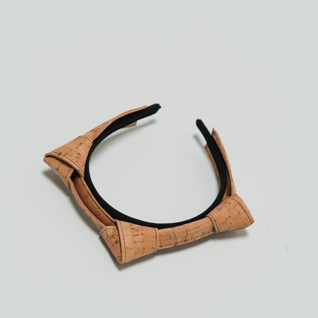 Cork knot hair band