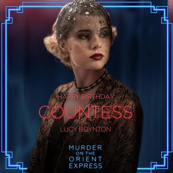 Murder on the Orient Express on Lucy Boynton