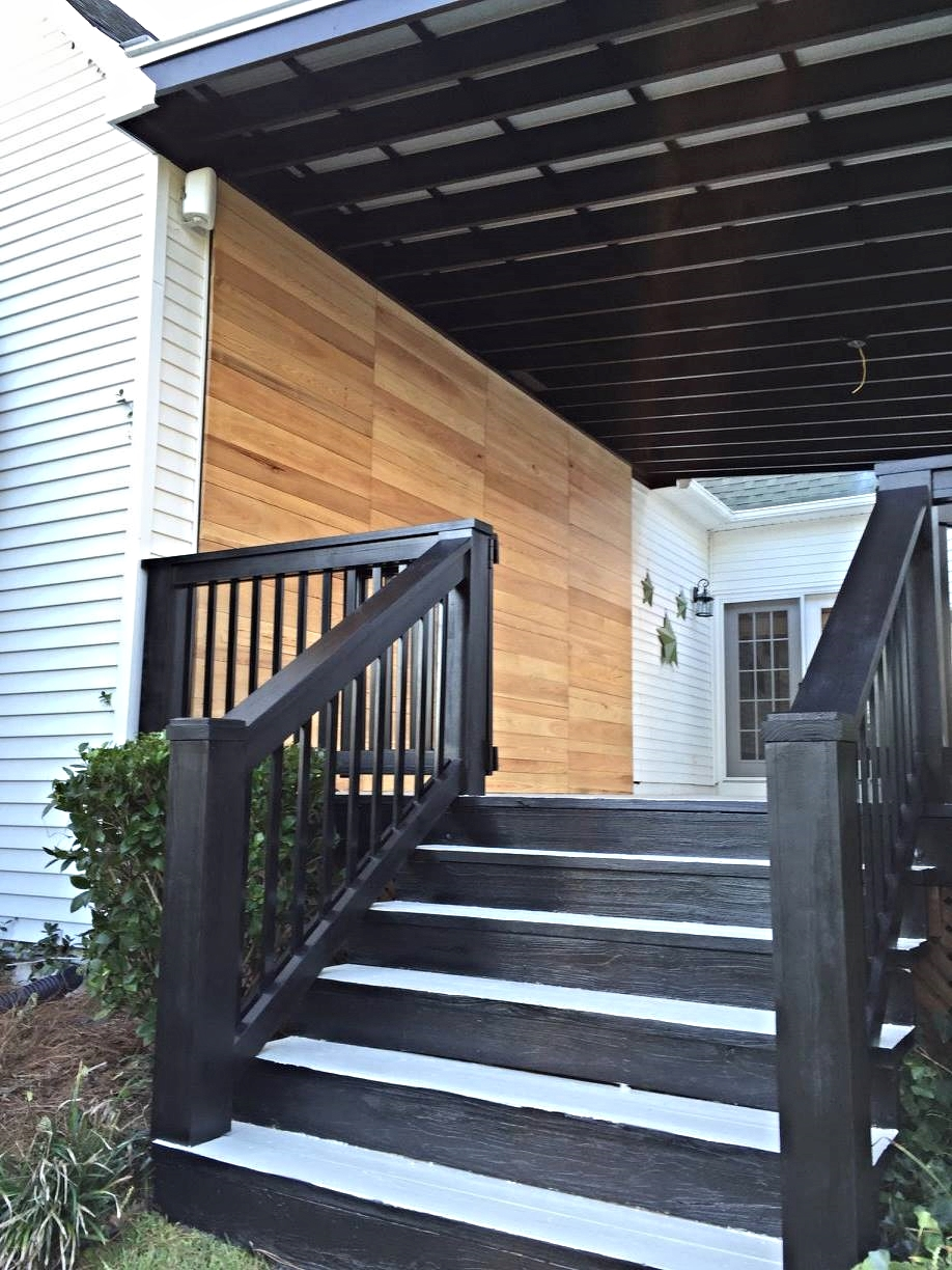Custom exterior stairs