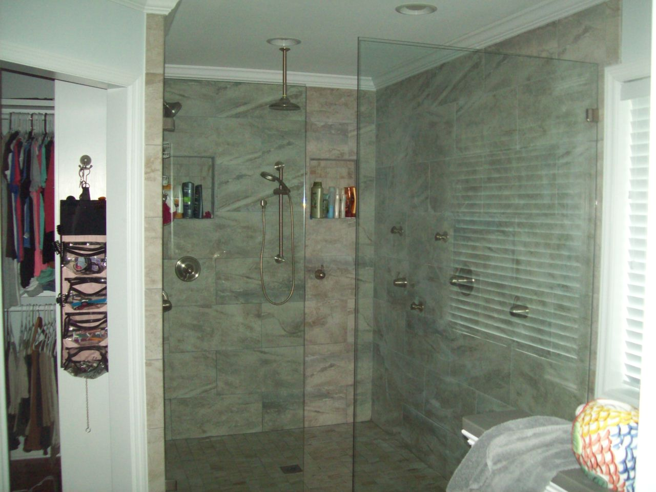 Bathroom Remodel- Large jetted shower