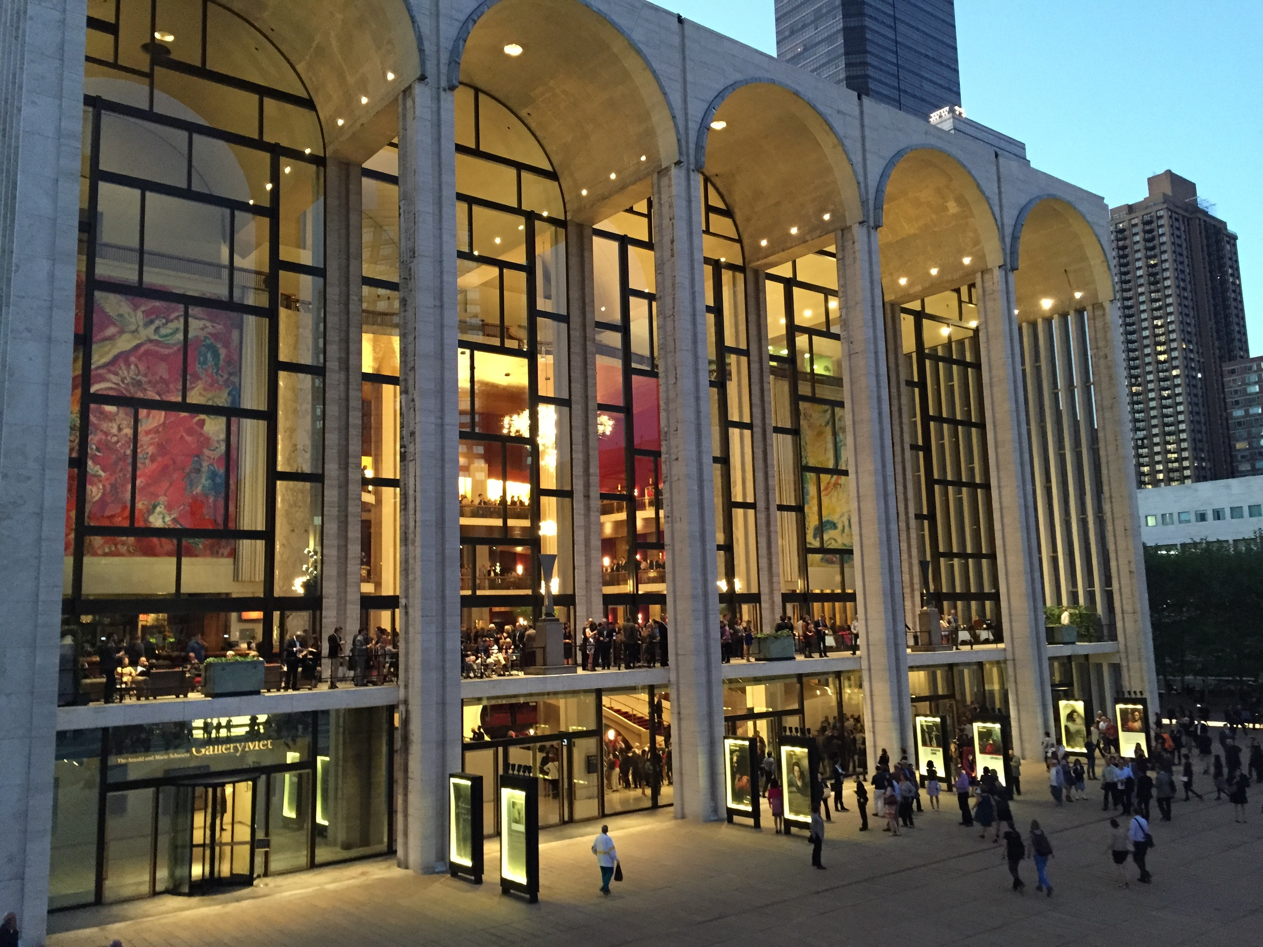 Favorite place, Metropolitan Opera house. Attending 2 performances at week, is that too much?