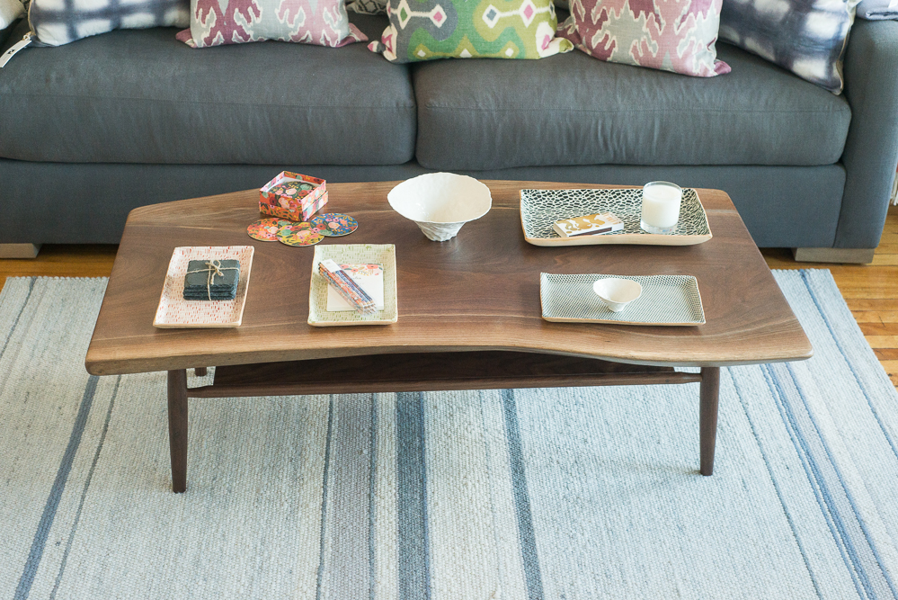 Handmade Coffee Table from  Vermont Farm Table.