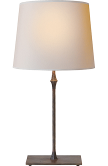 Dauphine Bedside Lamp in Aged Iron (Visual Comfort).png