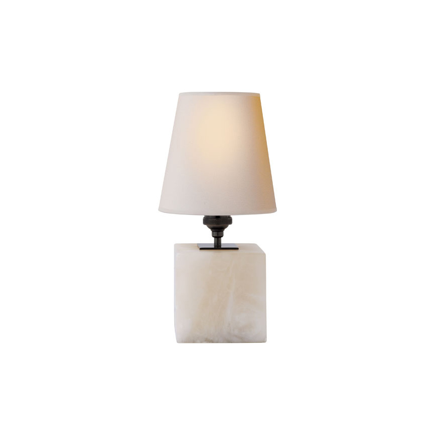 VisualComfort Terri Cube Accent Lamp in Alabaster with Natural Paper Shade.jpg