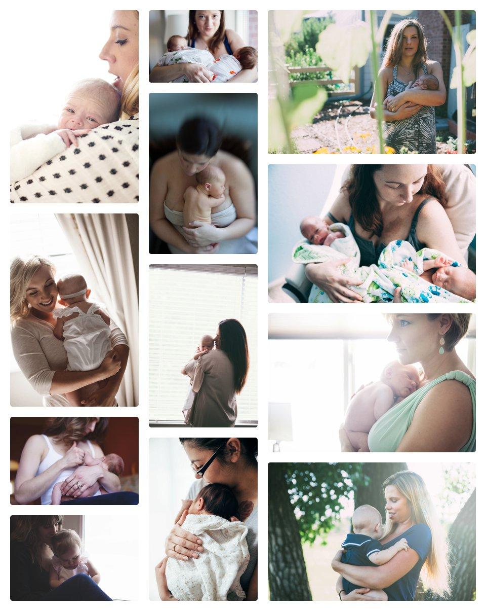 Motherhood; tremulous,joyful and shockingly wonderful.