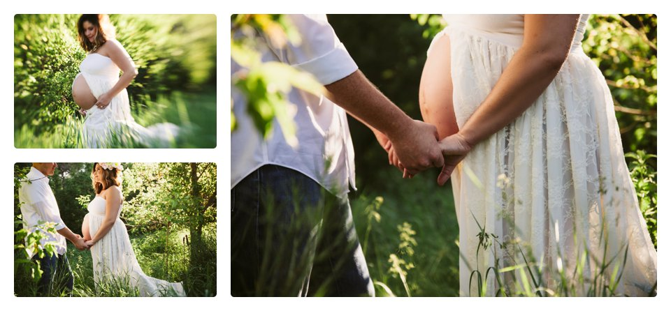 Denver lifestyle maternity photography