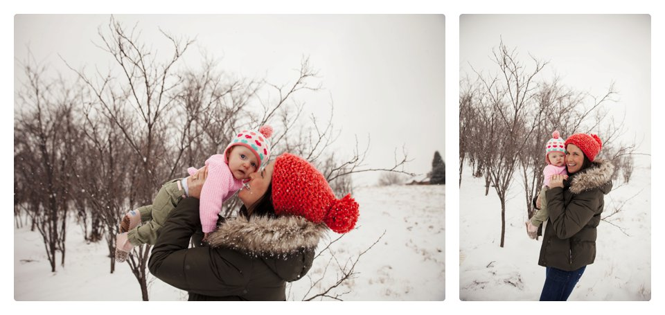 Denver family snow photography