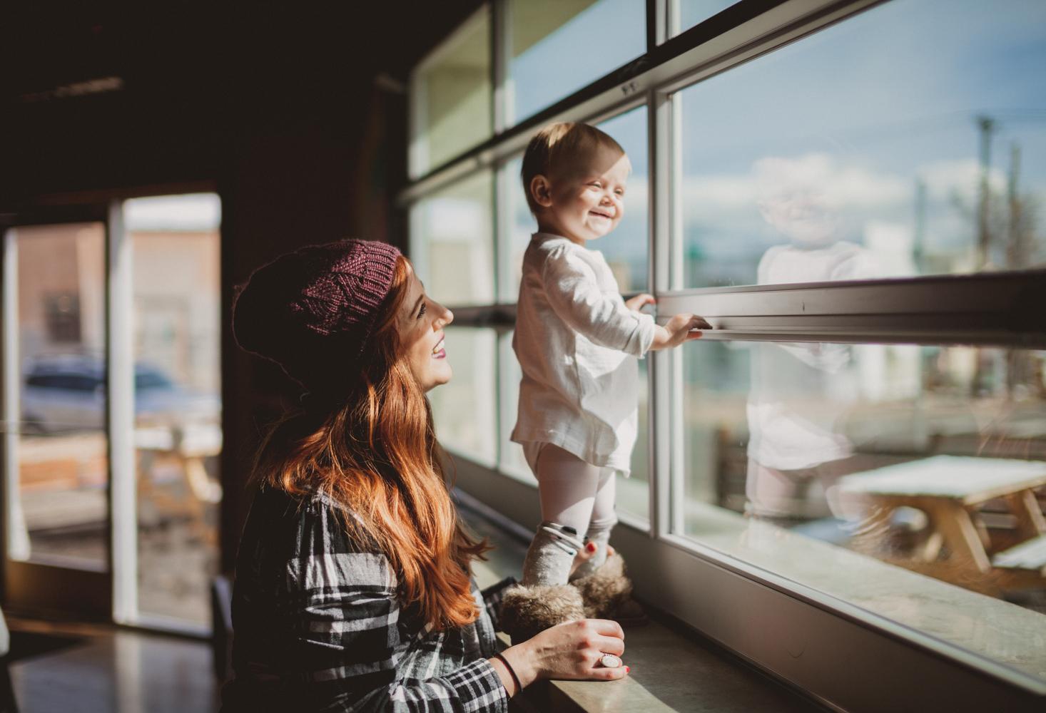 Denver lifestyle photography motherhood