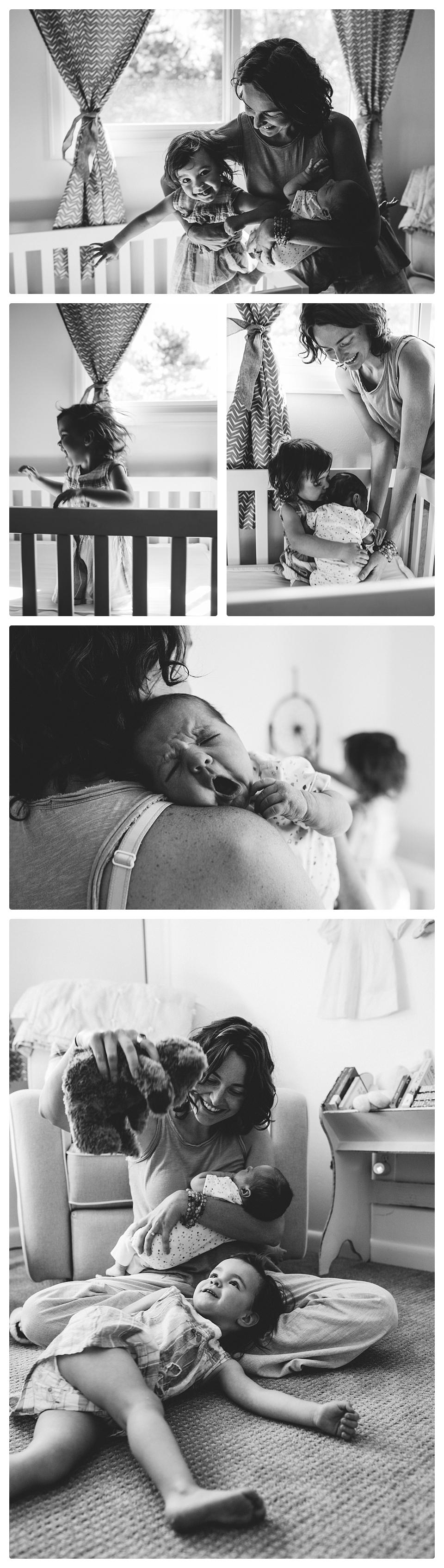Denver, lifestyle newborn photography