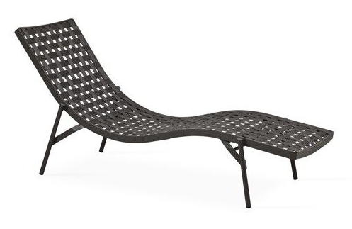 Nizza Sunbed is stackable. Available via  Yliving.com