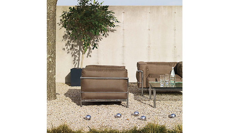 Le Corbusier for the Patio...why not? Available at  DWR .
