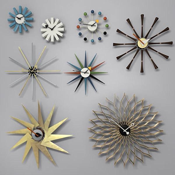 George Nelson-Style Clocks