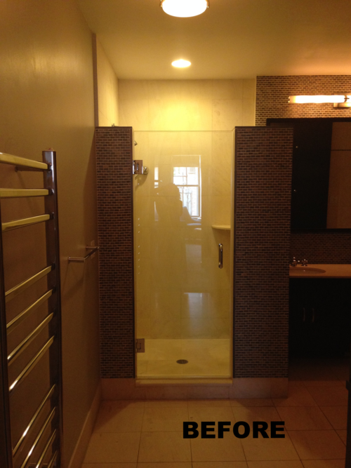Limited Lighting Variety and Bulky Shower