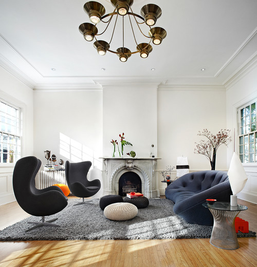 Contemporary Living Room  by  Toronto Photographers   Lisa Petrole Photography