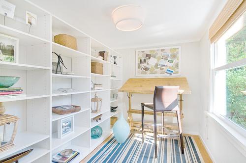 Eclectic Home Office  by  San Francisco Interior Designers & Decorators   Tamara Mack Design