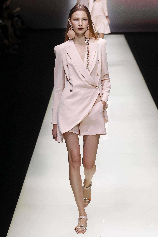 Spring Ready to Wear from Emporio Armani via Vogue.com