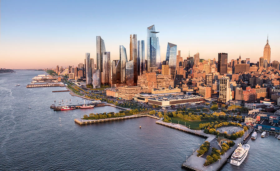 A future proposed view of the west side, via  iflarchitecture.