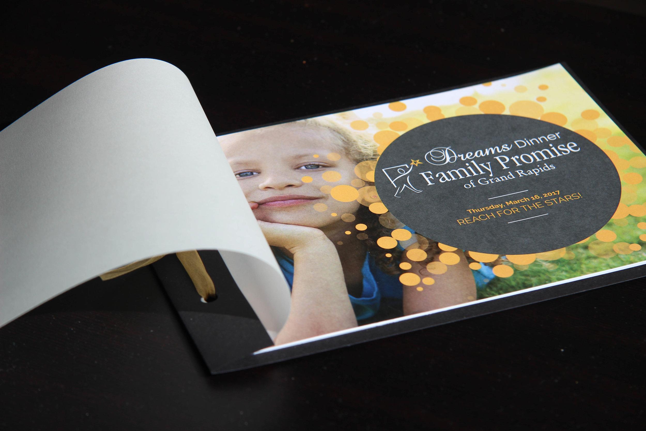 Gala Program Cover Design