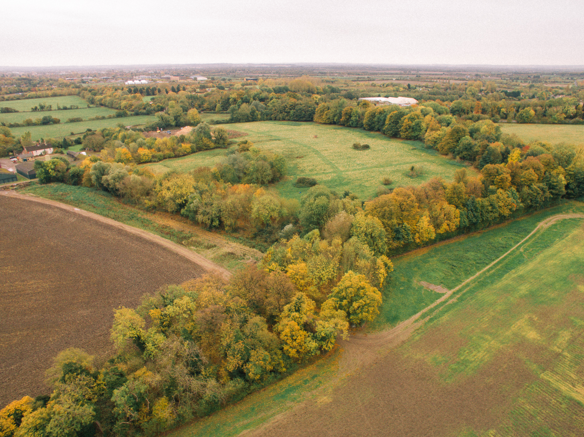 A pic from the first flight test with my drone