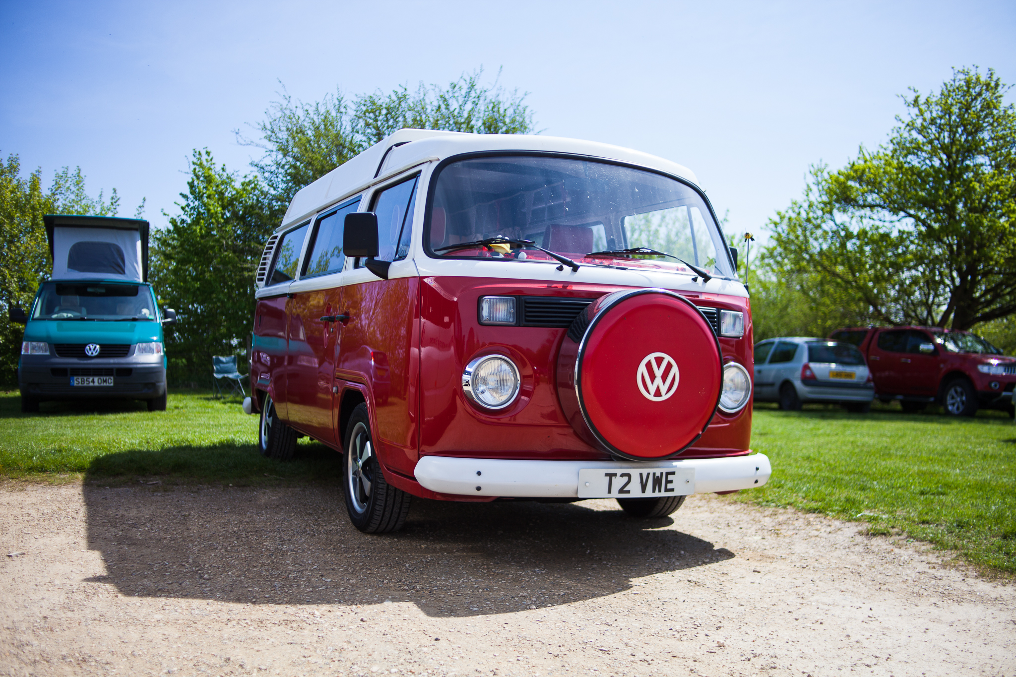 T2 camper spotted by Avebury