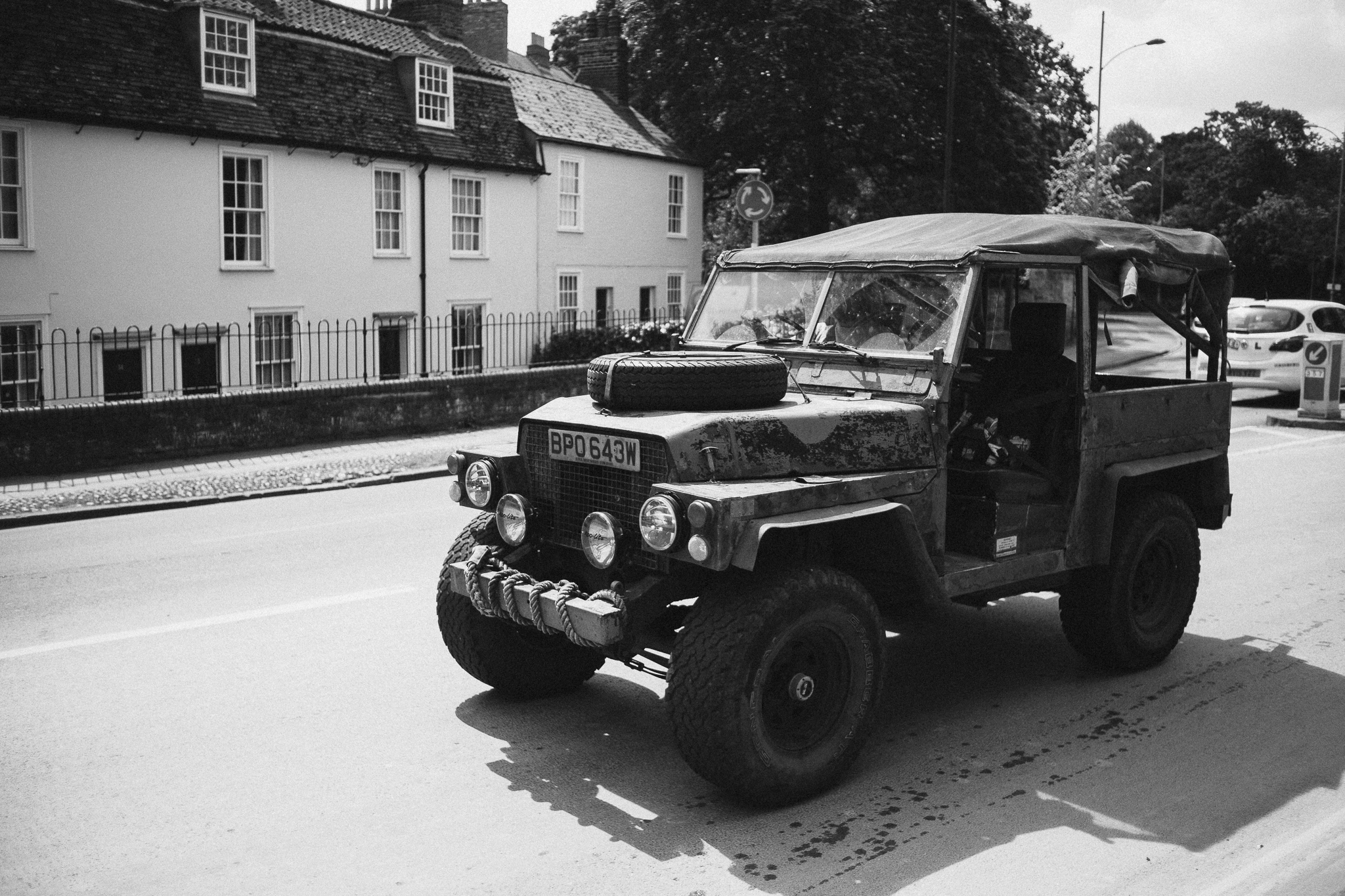 Land Rover Lightweight, based on the Series III