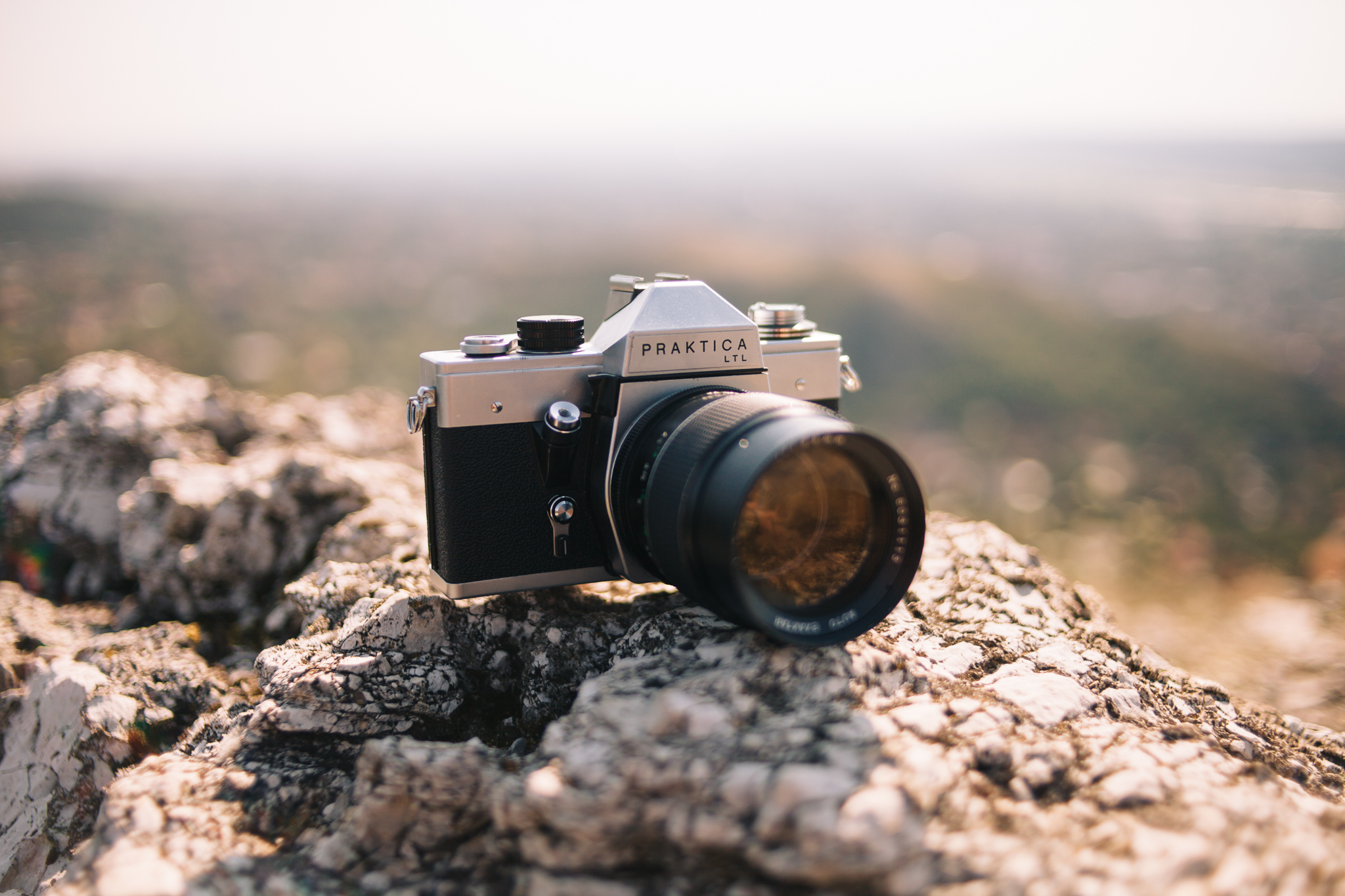 My current favorite film camera in the collection: the Praktica LTL