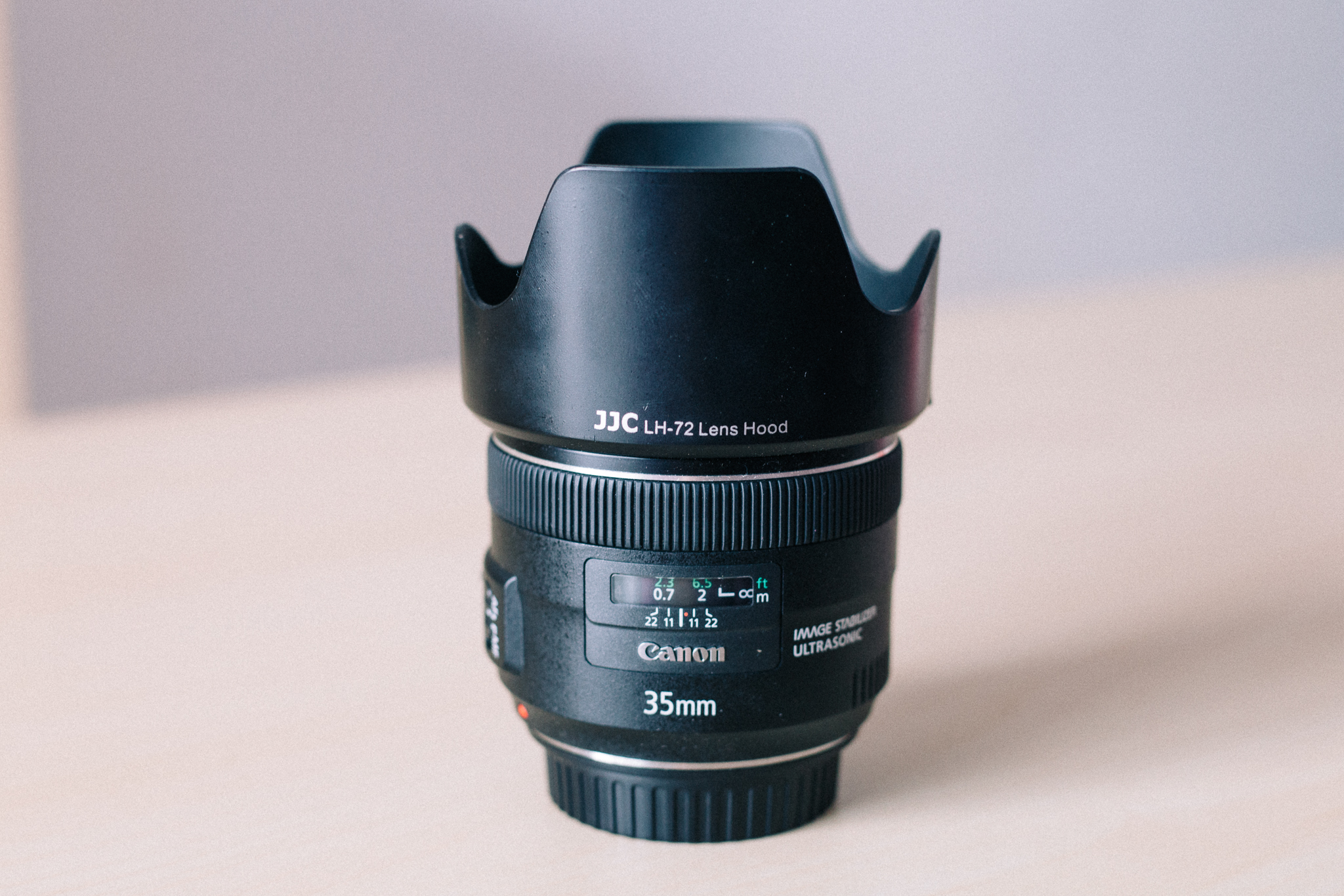 Is that little piece of plastic to protect the front lens worth 50€ extra if it comes from Canon?