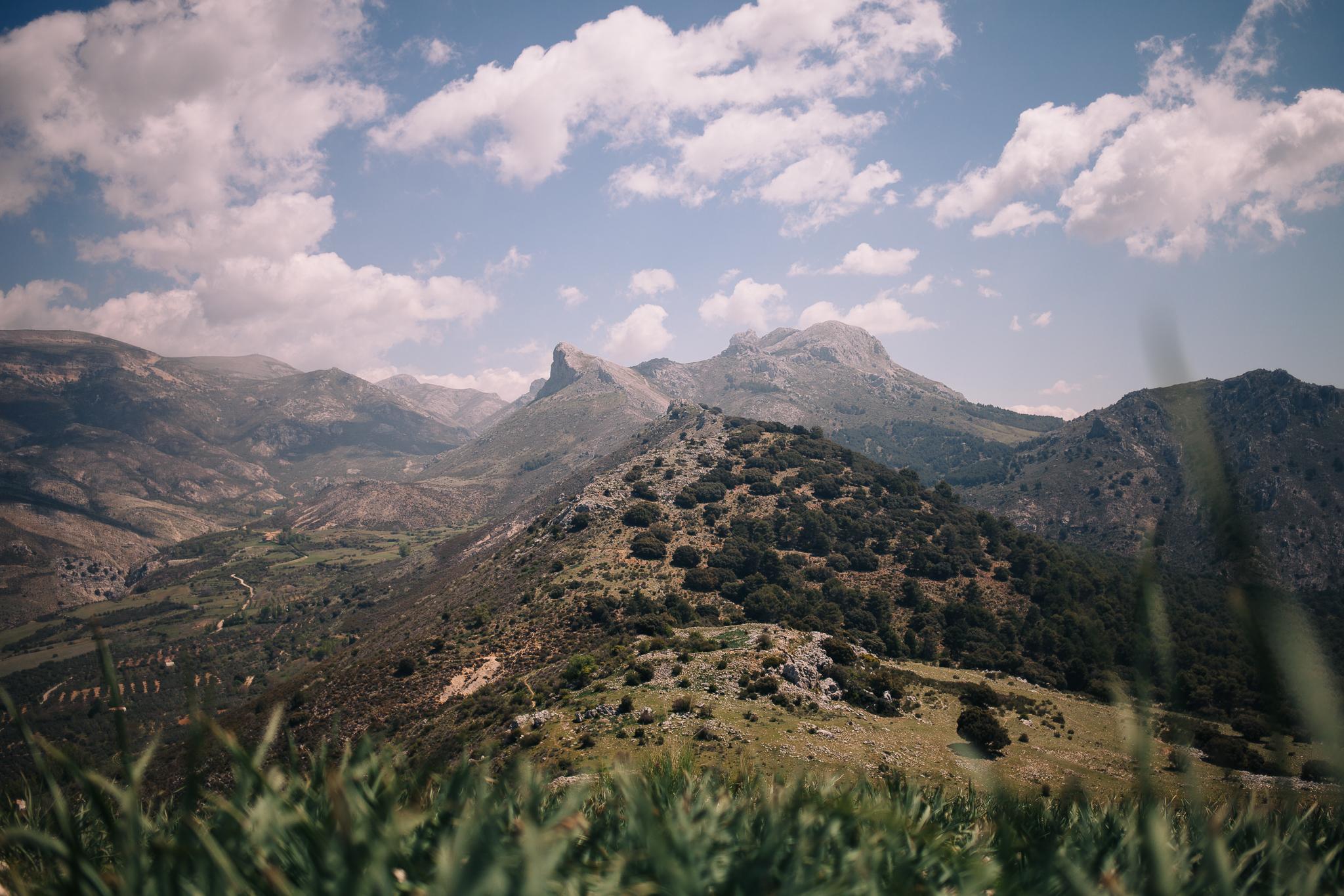 The Sierra de Huétor, which is kind of a  hidden gem  near Granada…