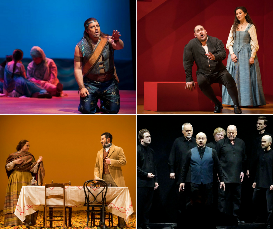 Lyric Opera's Pearl Fishers, Rigoletto, and Eugene Onegin (Photos: Todd Rosenberg) The Death of Seneca (Photo: Michele Crosera)