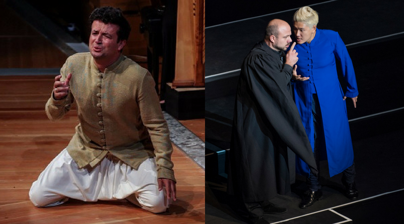 Krystian Adam as Orfeo and Kangmin Justin Kim as Nerone