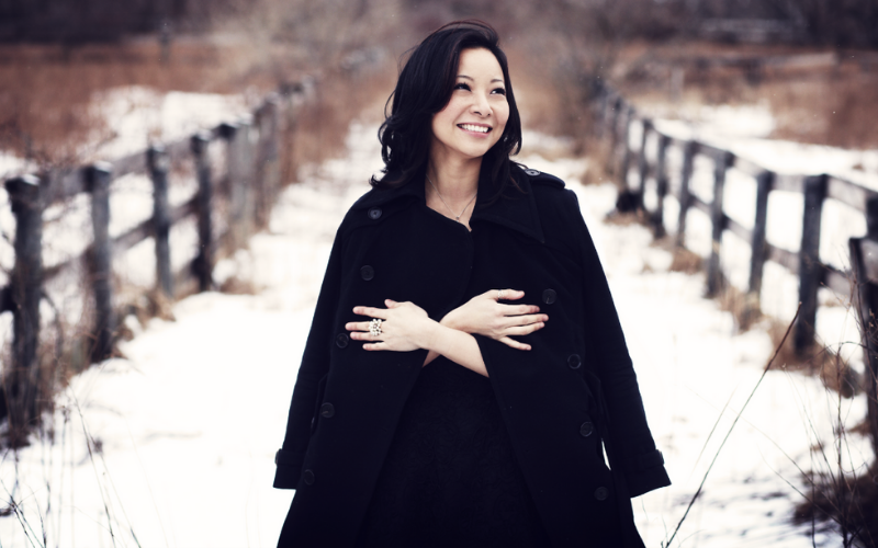 Composer Justine F. Chen. Photo by Steven Laxton.