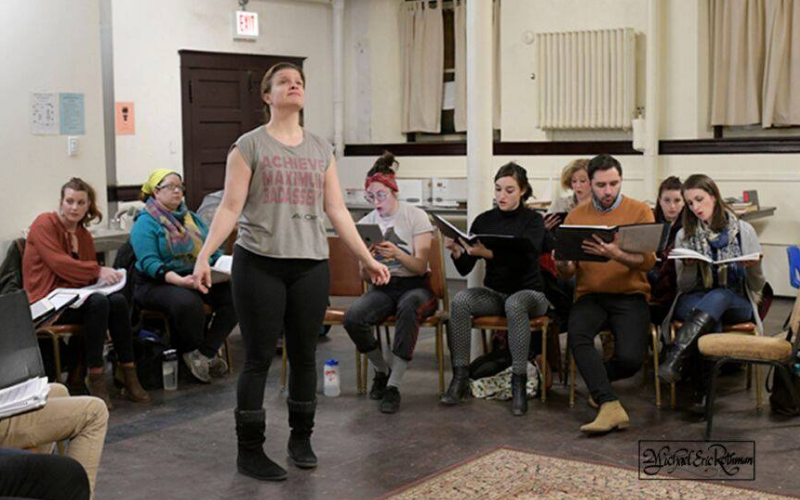 Rehearsal photo by Michael E. Rothman.