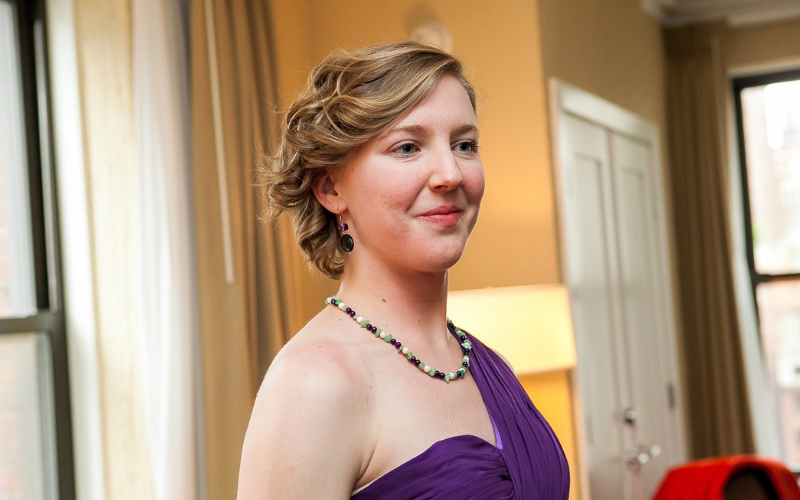 Soprano and oboist Laura Perkett