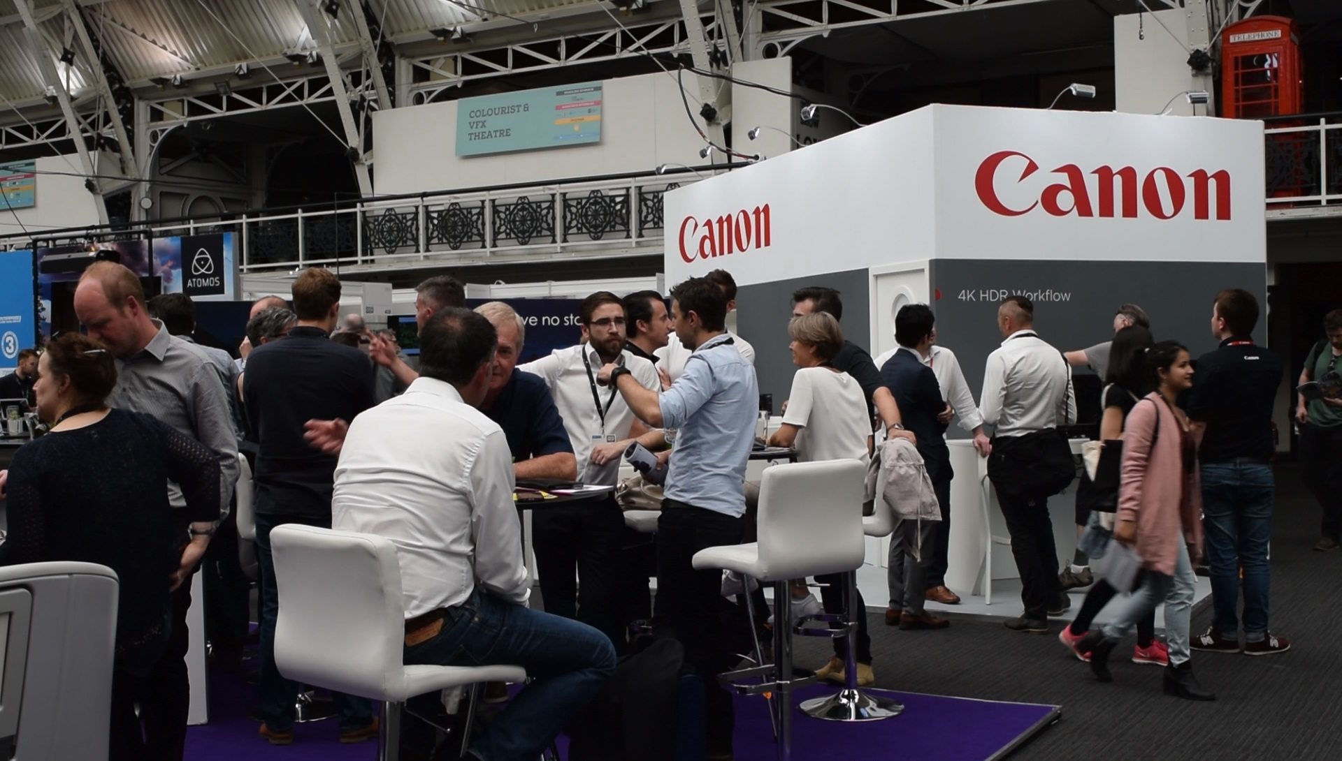 marketing at trade shows - networking