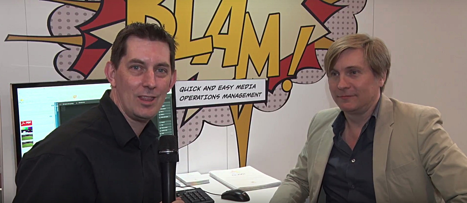 marketing at trade shows - video interview