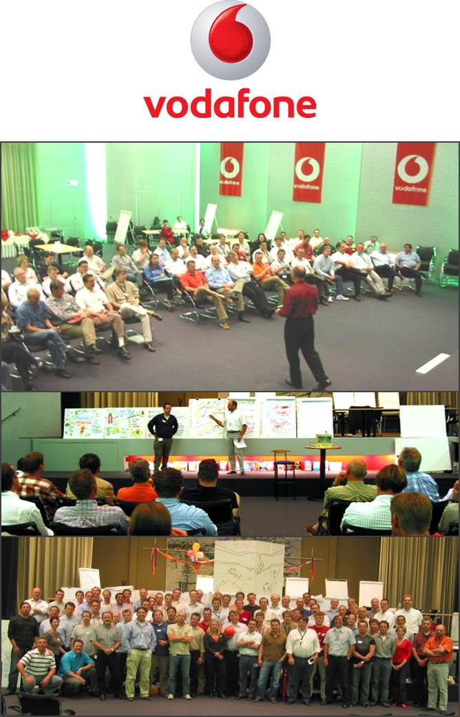 Participants were from the Vodafone office in Maastricht, NL.